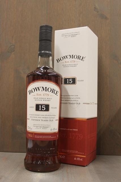 Bowmore 15 years - 43,0%-0