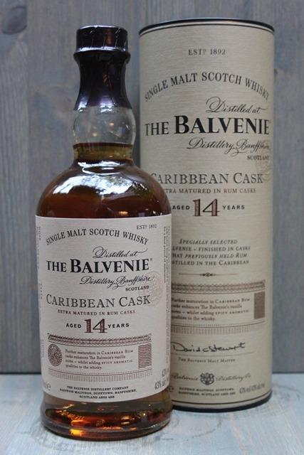 Balvenie 14 years - 43,0%-0
