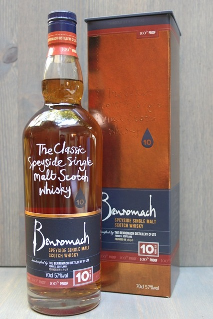 Benromach 10 years - 57,0%-0