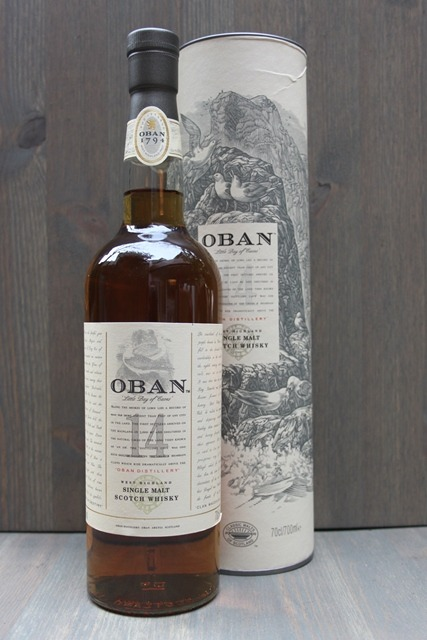 Oban 14 years - 43,0%-0