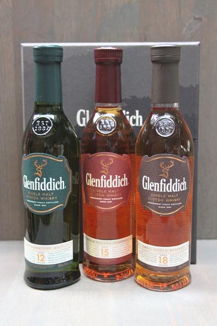 Glenfiddich Set - 40,0%-0