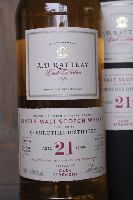 Glenrothes 1996 - Rattray - 51,9%-4379