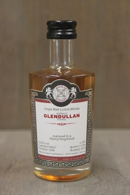 Glendullan 1996 MoS Mini - 50,8 %-0