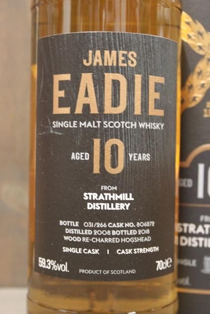 Strathmill 2008 - James Eadie - 59,3%-4835