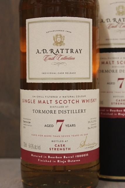 Tormore 2011 - A.D. Rattray - 64,9%-4985