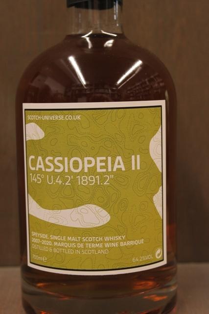 Cassiopeia II - Scotch Universe - 64,2%-7133