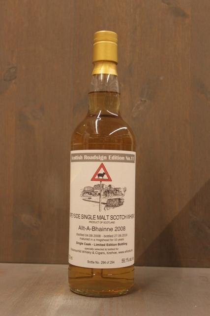 Allt-A-Bhainne 2008 Scottish Roadsign - 59,1%-0