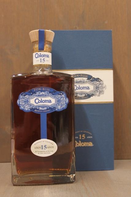 Rum Coloma - 15 Jahre - 40%-0