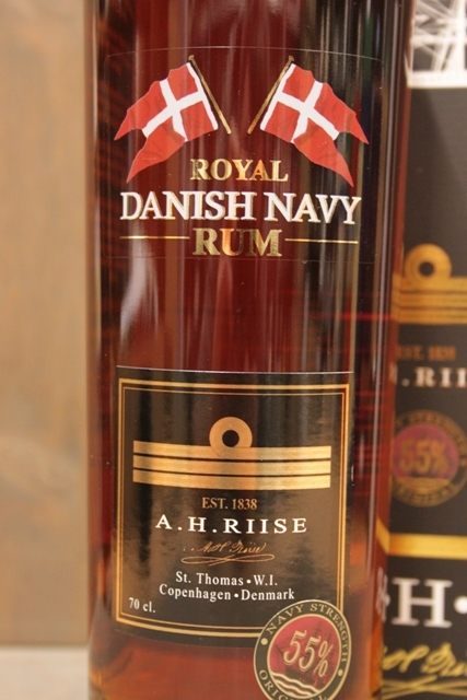 A.H. Riise - Danish Navy Strength - 55%-8083