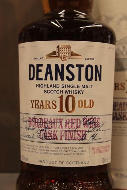Deanston 10 Jahre Bordeaux Finish - 46,3%-7566
