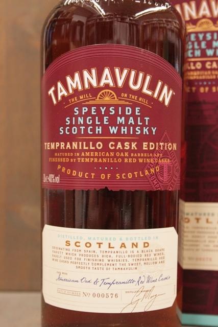 Tamnavulin Tempranillo Cask - 40%-8250
