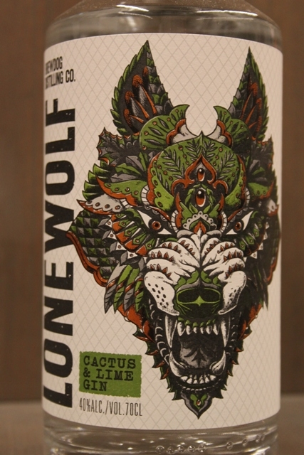 Lone Wolf Gin - Cactus Lime - 40%-9931