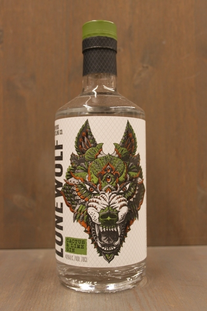 Lone Wolf Gin - Cactus Lime - 40%-0