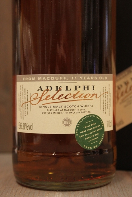 Macduff 11 Jahre Adelphi Selection - 56,8%-10393